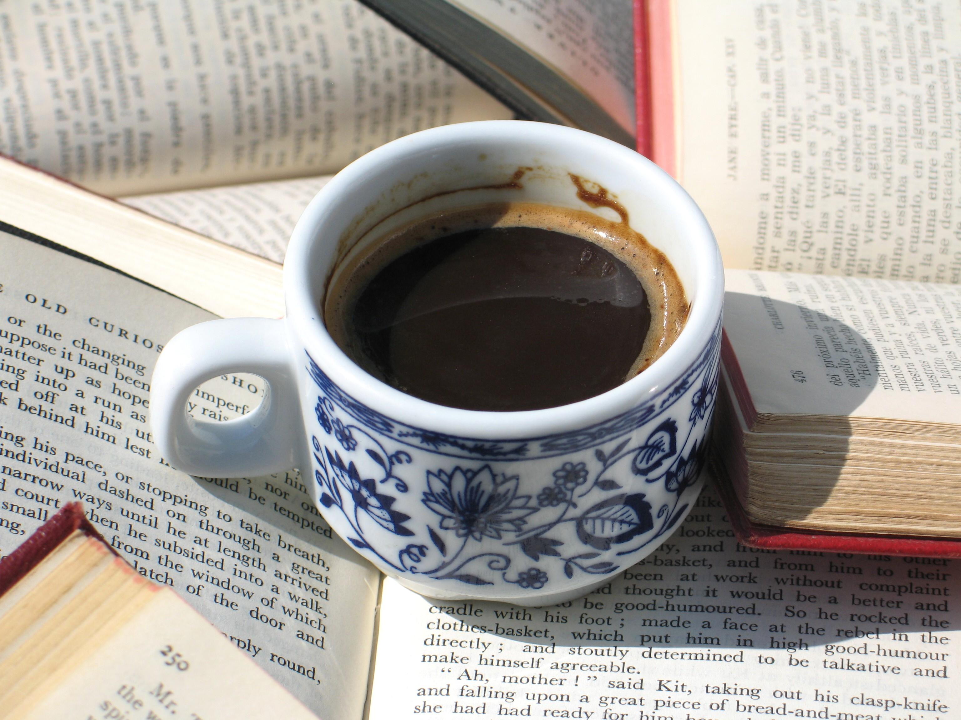 Books Coffee Warm