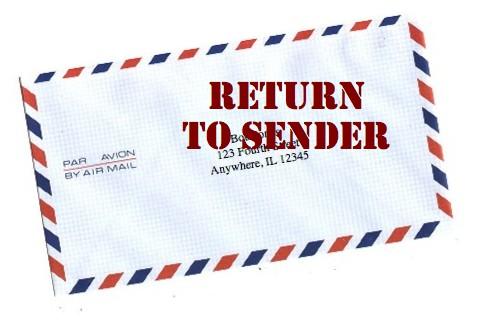 Return To Sender Day 22 Dare
