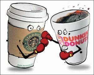 Starbucks vs Dunkin'